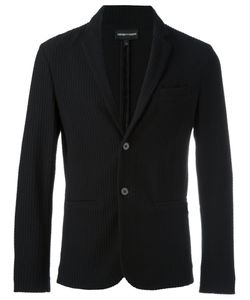 Emporio Armani | Button Up Blazer Xl Cotton/Spandex/Elastane/Polyamide
