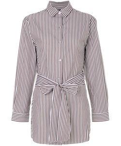 Eudon Choi | Belted Striped Shirt Women