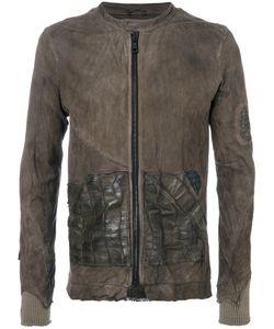 Giorgio Brato | Куртка На Молнии С Потертой Отделкой