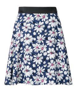 GUILD PRIME | Daisy Print Skirt 36 Polyester
