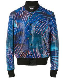 Just Cavalli | Palm Print Bomber Jacket