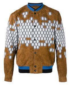 Lanvin | Havana Bomber Jacket 46 Cotton/Polyamide/Spandex/Elastane/Lamb Nubuck Leather