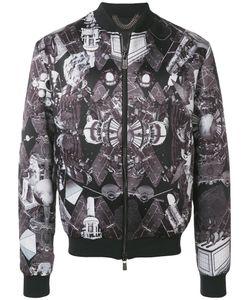 Frankie Morello | Куртка-Бомбер С Египетским Принтом