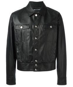 Kenzo | Cutaway Collar Jacket Small Leather