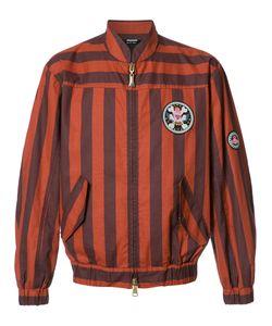 Vivienne Westwood   Man Striped Bomber Jacket 46 Cotton