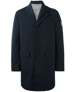 Moncler Gamme Bleu | Logo Patch Single-Breasted Coat