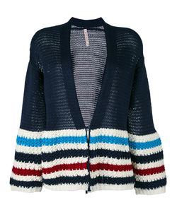 Antonio Marras | Striped Cardigan Large Cotton/Spandex/Elastane