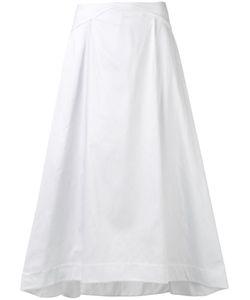 Jil Sander Navy | Woven Skirt Size 40