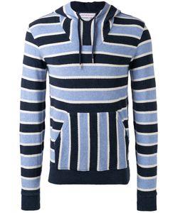 Orlebar Brown | Striped Hooded Sweatshirt Size Medium