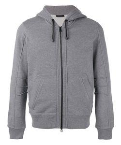 Belstaff   Zip-Front Hooded Sweatshirt Size Large