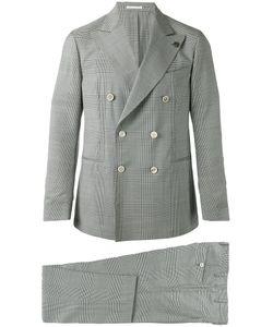 GABRIELE PASINI | Prince Of Wales Two-Piece Suit Size