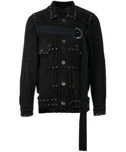 Maison Mihara Yasuhiro | Front Strap Buttoned Jacket Size 48