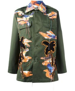 Night Market | Bird Patches Military Jacket Cotton/Polyester
