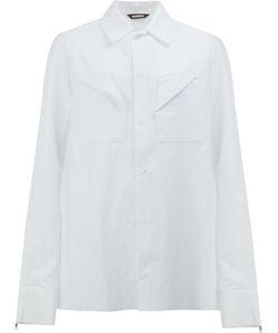 MOOHONG | Folded Pocket Shirt Size 50