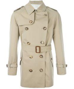 Alexander McQueen | Buttoned Short Trench Coat