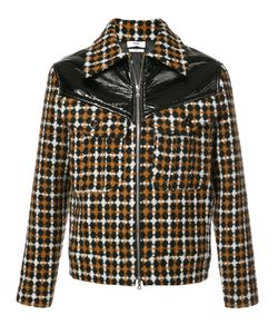 CMMN SWDN | Kurt Contrast Checked Jacket Men Cotton/Polyamide/Polyester/Virgin