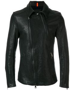 Tom Rebl   Off-Centre Zip Fastening Jacket Men