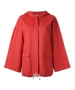 Fabiana Filippi | Swing Sleeve Hooded Jacket 42 Cotton/Hemp/Polyurethane