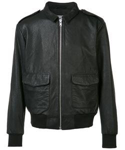 Wesc | Front Pocket Leather Jacket