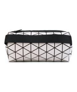 BAO BAO ISSEY MIYAKE | Geometric Print Cylinder Clutch
