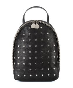 Stella Mccartney | Star-Embellished Mini Falabella Backpack Polyester/Metal