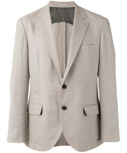 Brunello Cucinelli | Chest Pocket Blazer 56 Linen/Flax/Wool/Silk/Cupro