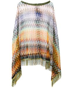 Missoni | M Asymmetric Draped Poncho