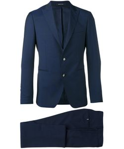 Tagliatore | Pointed Lapel Two-Piece Suit 48 Cupro/Virgin Wool/Cotton