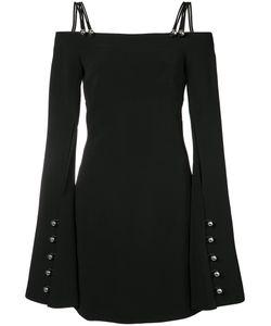 David Koma   Metal Ball Long Sleeve Dress