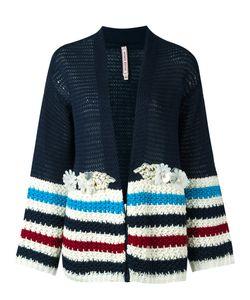Antonio Marras   Striped Panel Knit Cardigan Size 42