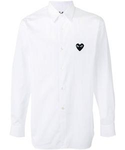 Comme des Gar ons Play | Comme Des Garçons Play Heart Patch Shirt Size Large