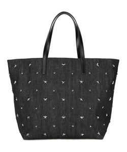 Red Valentino | Star Studded Tote Cotton/Leather/Metal
