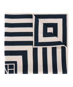Toteme | Квадратный Платок С Геометрическим Рисунком