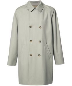 A.P.C. | Double-Breasted Loose Coat Medium Cotton/Viscose/Virgin Wool