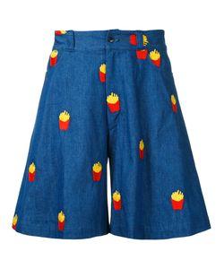 Mikio Sakabe | French Fries Shorts Adult Unisex Large Cotton