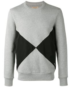 Burberry | Overlaid Geometric Motif Sweatshirt