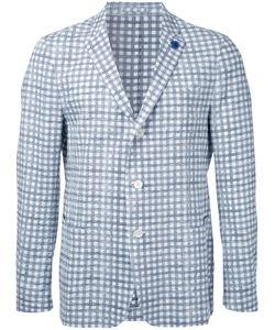 Lardini | Checked Blazer Size 50