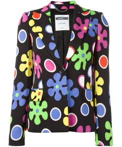 Moschino | Flower Power Blazer 44 Rayon/Other Fibers
