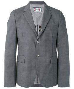 Moncler Gamme Bleu | Logo Plaque Button Front Blazer Size 3