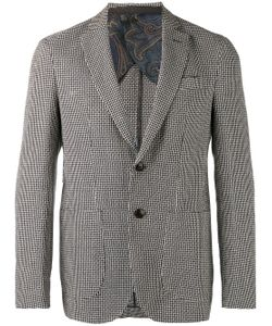 Etro | Patterned Long Sleeve Blazer