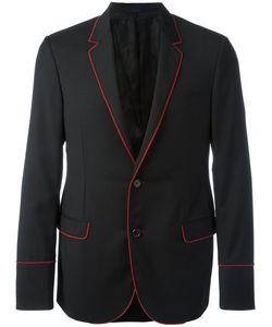 Lanvin | Ribbon Trim Blazer 50 Wool/Cupro