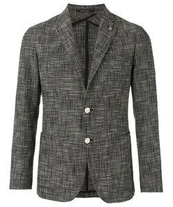 Tagliatore | Two Button Blazer 52 Cotton/Polyamide/Spandex/Elastane