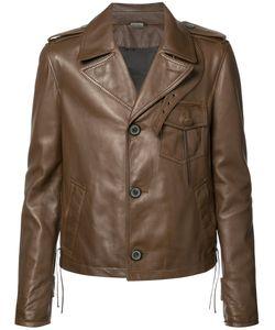Lanvin | Buttoned Jacket 50 Lamb Skin/Viscose