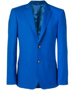 Alexander McQueen | Two Button Blazer 52 Wool/Virgin Wool/Silk/Viscose