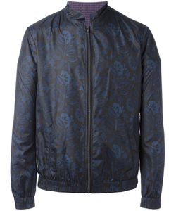 Etro | Print Lightweight Jacket Small Polyester/Cotton