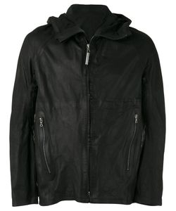 Isaac Sellam Experience | Hooded Leather Jacket Xl Leather