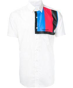 Yoshio Kubo | Рубашка С Контрастной Панелью