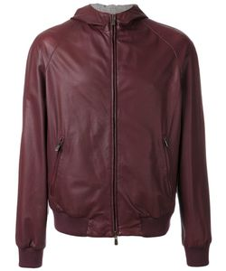 Loro Piana | Reversible Bomber Medium Silk/Cashmere/Calf Leather/Cotton