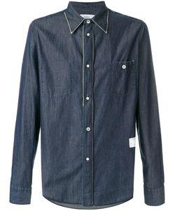 The Editor   Button Denim Shirt Men