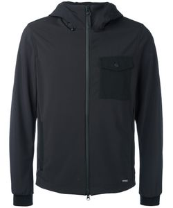 Woolrich | Hooded Jacket Large Polyester/Spandex/Elastane
